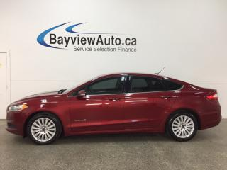 Used 2014 Ford Fusion Hybrid SE - KEYPAD! TINT! DUAL CLIMATE! SYNC! for sale in Belleville, ON