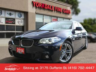 Used 2014 BMW 528 i xDrive M Sport. Navigation 360 Cam, No Accidents for sale in Toronto, ON