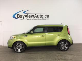 Used 2014 Kia Soul SX - ALLOYS! PANOROOF! HTD/AC LTHR! INFINITY! HTD WHEEL! for sale in Belleville, ON