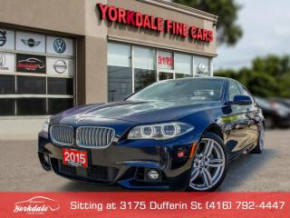 Used 2015 BMW 550i xDrive M Sport. Navigation. 360 Cam. Heads Up Display. Lane Asssist for sale in Toronto, ON