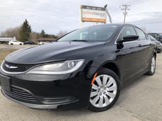 Used 2015 Chrysler 200 LX Auto, Air, Cruise with Steering Wheel Controls and Keyless Entry! for sale in Kemptville, ON
