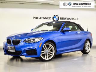 Used 2015 BMW 228i xDrive Cabriolet for sale in Newmarket, ON