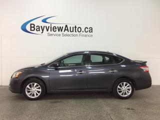 Used 2015 Nissan Sentra 1.8 SV - 1.8L! ALLOYS! HTD SEATS! SPORT MODE! REVERSE CAM! for sale in Belleville, ON