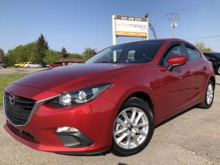 Used 2015 Mazda MAZDA3 GS Auto with Heated Seats, BackupCam, Bluetooth, Cruise, Alloys and Pwr Windows with Keyless Entry and for sale in Kemptville, ON