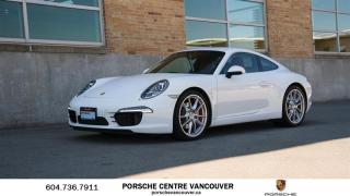 Used 2015 Porsche 911 Carrera S Coupe (991) w/ PDK for sale in Vancouver, BC