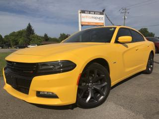 Used 2017 Dodge Charger Absolutely Loaded R/T with NAV, Sunroof, Heated Steering, Heated Front and Rear Seats, BackupCam, Bl for sale in Kemptville, ON