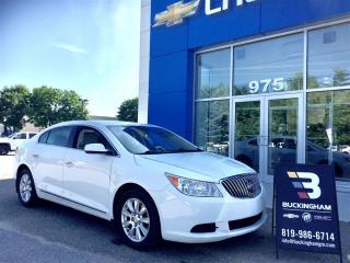 Used 2013 Buick LaCrosse for sale in Gatineau, QC