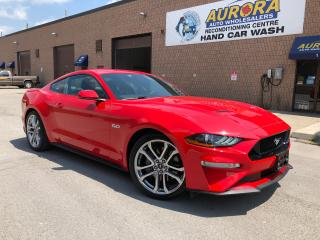 Used 2018 Ford Mustang GT 5.0 PREMIUM - LEATHER - NAVIGATION for sale in Aurora, ON