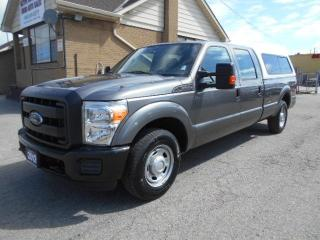 Used 2012 Ford F-250 XL Crew Cab 8Ft Box Heavy Duty 3/4Ton ONLY 35,000K for sale in Etobicoke, ON