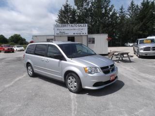 Used 2012 Dodge Grand Caravan SE STOW  N GO for sale in Elmvale, ON