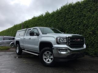 Used 2017 GMC Sierra 1500 SLE 4x4 + NAVIGATION + BACK-UP CAMERA + POWER DRIVER SEAT + NO EXTRA DEALER FEES for sale in Surrey, BC