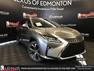 Used 2018 Lexus RX 350 L DEMO UNIT - EXECUTIVE PACKAGE 6 PASSENGER for sale in Edmonton, AB