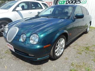 Used 2002 Jaguar S-Type 3.0 for sale in Brantford, ON