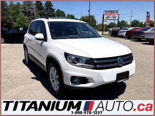 Used 2015 Volkswagen Tiguan Comfotline+4Motion+GPS+Camera+Pano Roof+Leather+++ for sale in London, ON