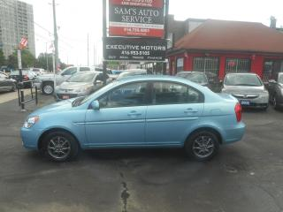 Used 2010 Hyundai Accent MINT/ LIKE NEW / SUPER LOW KM/ FUEL SAVER/ for sale in Scarborough, ON