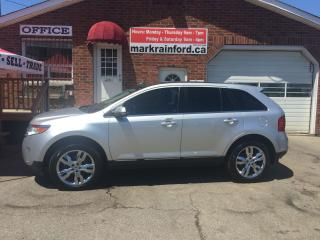 Used 2013 Ford Edge Limited Navigation Pano Roof Heated Leather AWD for sale in Bowmanville, ON
