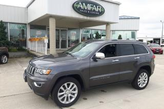 Used 2017 Jeep Grand Cherokee Limited / LOADED / NO PAYMENTS FOR 6 MONTHS !! for sale in Tilbury, ON
