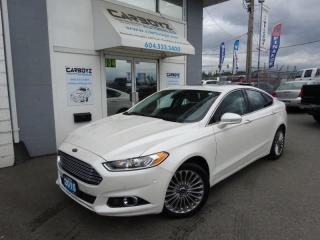 Used 2015 Ford Fusion Titanium AWD, TOP MODEL, Nav, Sunroof, Leather for sale in Langley, BC