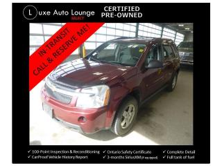 Used 2009 Chevrolet Equinox LS AWD - POWER GROUP, A/C, CRUISE, REMOTE START for sale in Orleans, ON