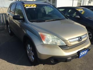 Used 2008 Honda CR-V EX for sale in St Catharines, ON