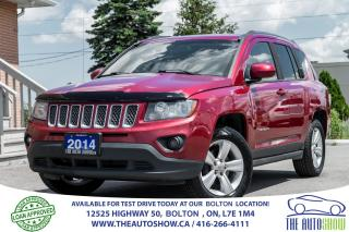Used 2014 Jeep Compass NORTH 4WD LEATHER NEW TIRES & BRAKES 1 OWNER for sale in Caledon, ON