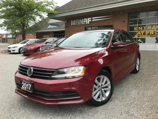 Used 2017 Volkswagen Jetta Wolfsburg Edition SE 1.4L, Sunroof, Backup Camera for sale in Concord, ON