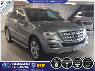 Used 2011 Mercedes-Benz ML-Class ML 350 BlueTEC 4MATIC for sale in Laval, QC