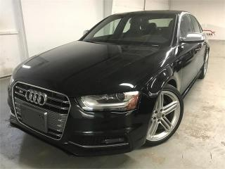 Used 2015 Audi S4 TECHNIK PLUS for sale in Burlington, ON