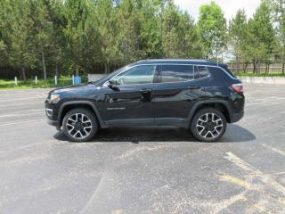 Used 2017 Jeep Compass Limited 4X4 for sale in Cayuga, ON
