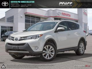 Used 2014 Toyota RAV4 AWD Limited FULLY LOADED LEATHER, SUNROOF, BLUETOOTH AND MORE for sale in Mono, ON
