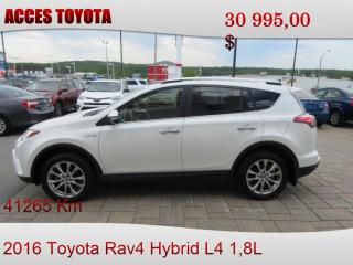 Used 2016 Toyota RAV4 for sale in Rouyn-Noranda, QC