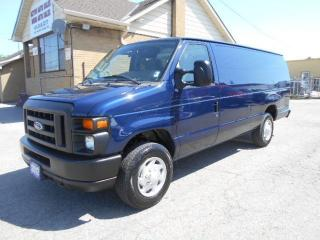 Used 2012 Ford E-150 Extended Cargo Van Loaded Certified ONLY 31,000KMs for sale in Etobicoke, ON