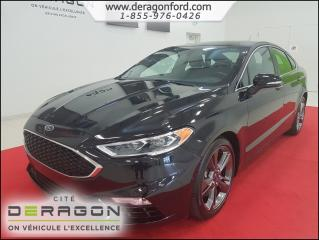 Used 2017 Ford Fusion V6 Sport Sync Camera for sale in Cowansville, QC