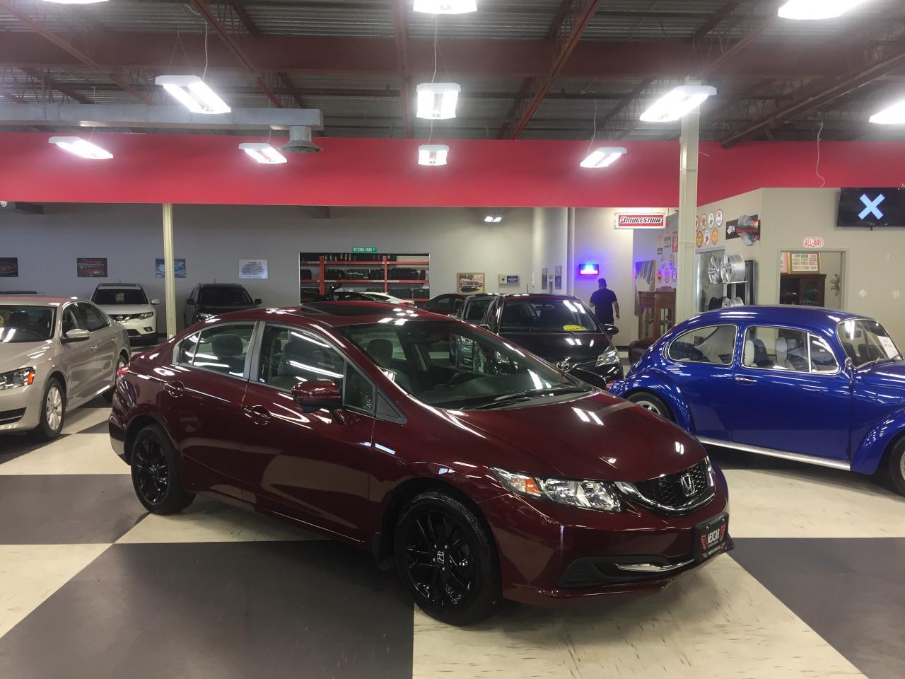 2014 Honda Civic EX AUT0 A/C SUNROOF BACKUP CAMERA 72K