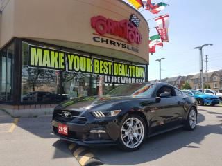 Used 2015 Ford Mustang GT Premium 50TH ANNIVERSAY 6 SPEED 20