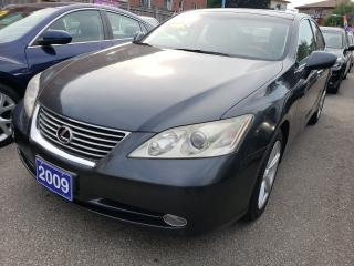 Used 2009 Lexus ES 350 Navigation/Camera/Leather/Power Seats/Roof/Alloys for sale in Scarborough, ON