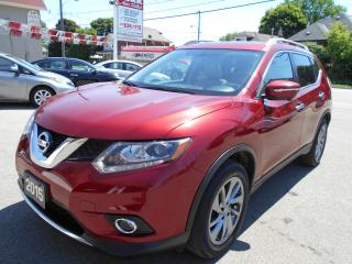 Used 2015 Nissan Rogue SL/NAV/LEATHER/ROOF/AWD for sale in Guelph, ON