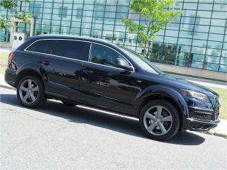 Used 2015 Audi Q7 TDI|S LINE|NAVI|360 CAM|DUAL DVD|PANOROOF for sale in Scarborough, ON