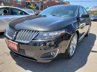 Used 2010 Lincoln MKS AWD/Low Mileage/Navi/Camera/Bluetooth/Leather for sale in Scarborough, ON