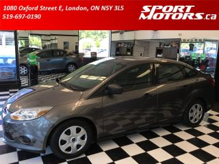 Used 2014 Ford Focus New Tires & Brakes! A/C! Bluetooth! Microsoft Sync for sale in London, ON