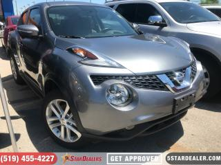 Used 2016 Nissan Juke SL   NAV   LEATHER   ROOF   AWD   CAM for sale in London, ON