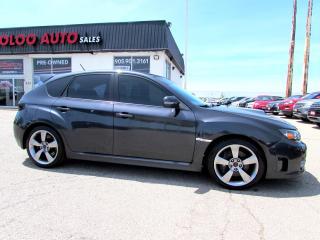Used 2009 Subaru Impreza WRX STi STI TURBO Hatchback AWD 6 SPEED CERTIFIED for sale in Milton, ON