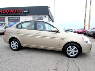 Used 2010 Hyundai Accent GLS 4-Door for sale in Milton, ON