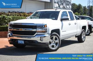 New 2018 Chevrolet Silverado 1500 1LT Navigation, Backup Camera, Bluetooth for sale in Coquitlam, BC