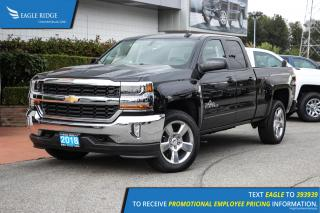 New 2018 Chevrolet Silverado 1500 1LT Navigation & Backup Camera for sale in Coquitlam, BC