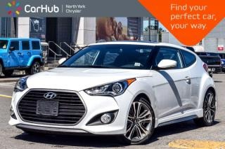 Used 2016 Hyundai Veloster Turbo|Manual|Pano_Sunroof|Heat Frnt.Seats|Keyless_Go for sale in Thornhill, ON