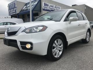 Used 2011 Acura RDX Base CAMERA|BLUETOOTH|LEATHER|ALLOY WHEELS|CERTIFIED for sale in Concord, ON