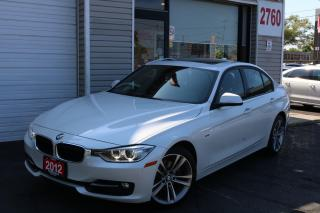 Used 2012 BMW 328 Sport Line, Navigation, Rear Camera, Pearl White for sale in North York, ON
