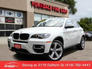 Used 2013 BMW X6 xDrive35i Sport, Navigation, 360 Cam, No Accident for sale in Toronto, ON