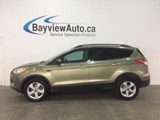 Used 2013 Ford Escape - ECOBOOST! KEYPAD! HTD SEATS! DUAL CLIMATE! SYNC! for sale in Belleville, ON